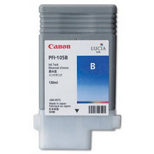 Canon PFI-105B Blue OEM Ink Cartridge, 3008B001AA