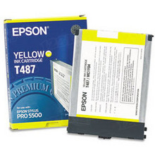 Original Epson T487011 Yellow Inkjet Cartridge (T487)