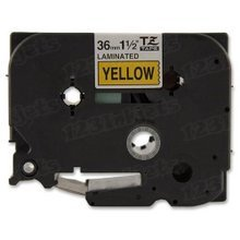 Brother TZe661 Black on Yellow OEM 1 1/2 Label Tape