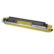 Remanufactured Replacement for HP CF352A (130A) Yellow Laser Toner Cartridge