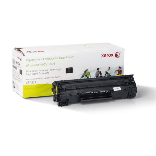 Xerox Remanufactured Black Laser Toner for Hewlett Packard CB435A
