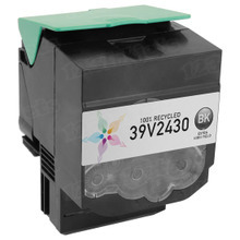 Remanufactured IBM 39V2430 Extra High Yield Black Laser Toner Cartridges