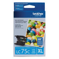 Brother LC75C Cyan OEM High-Yield Ink Cartridge