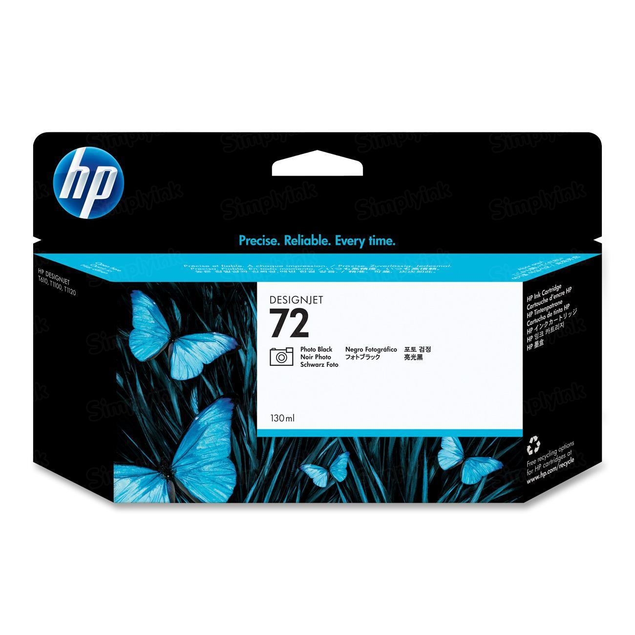 HP 72 Photo Black Original Ink Cartridge C9370A