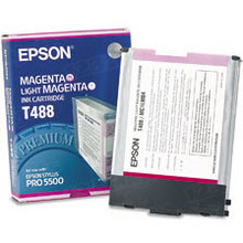 Original Epson T488011 Magenta Inkjet Cartridge (T488)