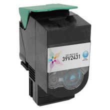 Remanufactured IBM 39V2431 Extra High Yield Cyan Laser Toner Cartridges