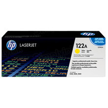 HP 122A (Q3962A) Yellow Original Toner Cartridge in Retail Packaging