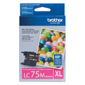 Brother LC75M Magenta OEM High-Yield Ink Cartridge