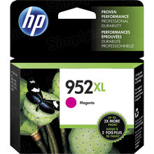 Original HP 952XL High Yield Magenta Ink Cartridge in Retail Packaging (L0S64AN)