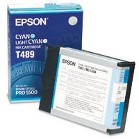 Original Epson T489011 Cyan Inkjet Cartridge (T489)