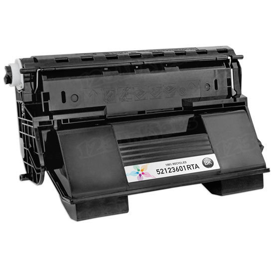 Remanufactured 52123601 Black Toner for Okidata