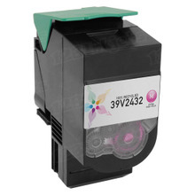 Remanufactured IBM 39V2432 Extra High Yield Magenta Laser Toner Cartridges