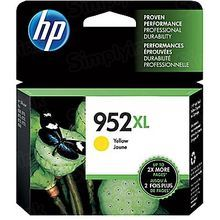 Original HP 952XL High Yield Yellow Ink Cartridge in Retail Packaging (L0S67AN)