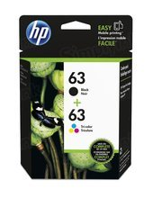OEM HP L0R48AN (63) Black & Tri-color Ink in Retail Packaging 4-pack