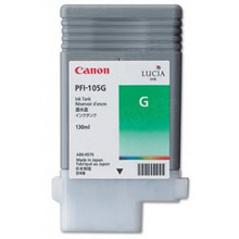 Canon PFI-105G Green OEM Ink Cartridge, 3007B001AA