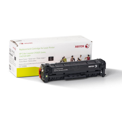 Xerox Remanufactured Black Laser Toner for Hewlett Packard CC530A