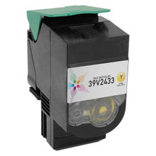 Remanufactured IBM 39V2433 Extra High Yield Yellow Laser Toner Cartridges