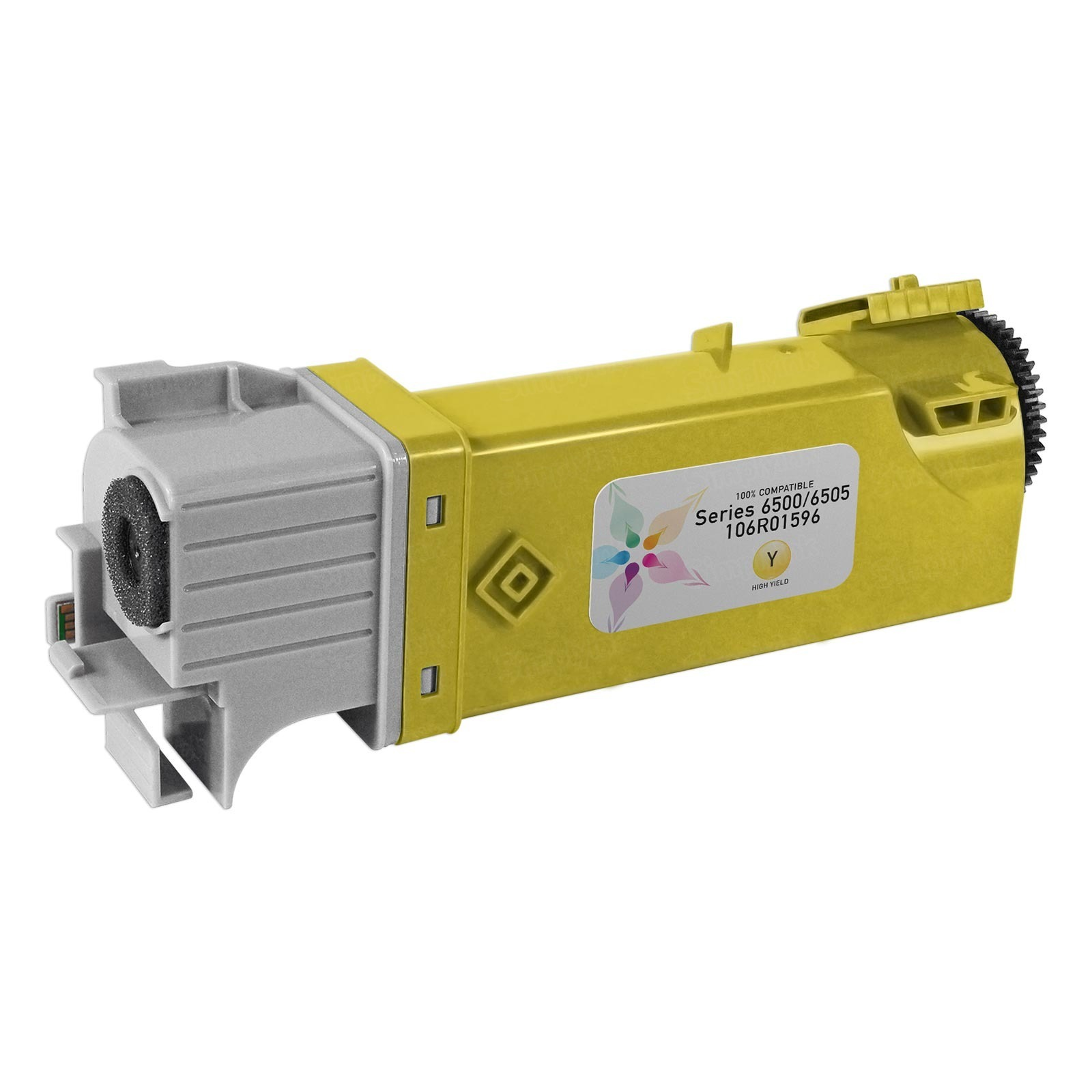 Compatible Xerox Phaser 6500/WorkCentre 6505 HY Yellow Toner