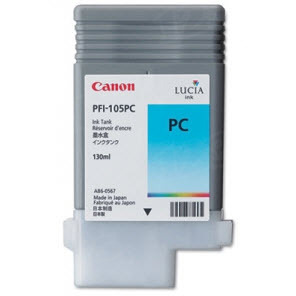 Canon PFI-105PC Photo Cyan OEM Ink Cartridge