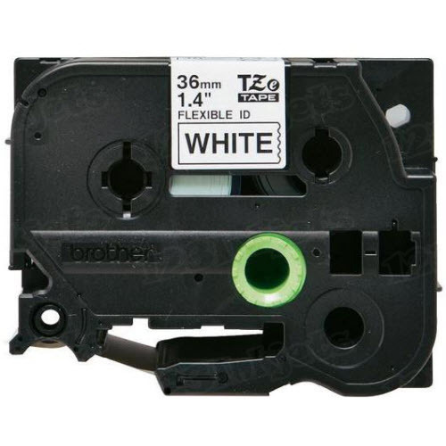 Brother TZe-FX261 1 1/2 Black on White OEM Tape