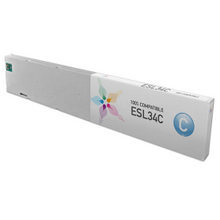 Compatible Roland ESL3-4C Eco-Sol Max Cyan Ink Cartridges