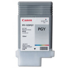 Canon PFI-105PGY Photo Gray OEM Ink Cartridge, 3010B001AA