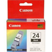 Canon BCI-24B Black OEM Ink Cartridge, 6881A003