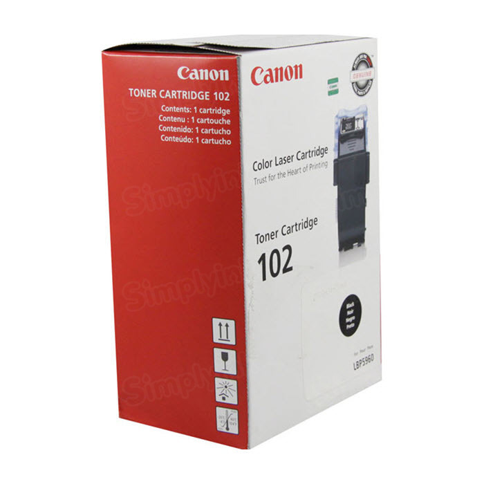 Canon CRG102 Black Toner Cartridge, OEM