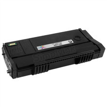 Compatible Ricoh SP 100LA Black Laser Toner Cartridge, 407165