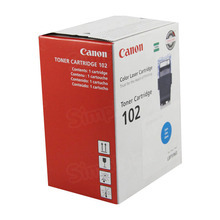 Canon CRG-102 (6,000 Pages) High Yield Cyan Laser Toner Cartridge - OEM 9644A006AA