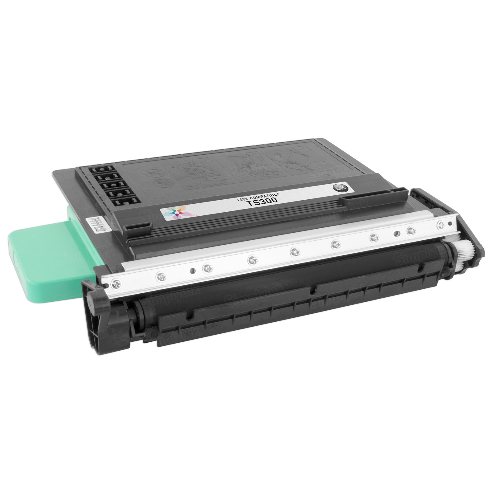 Remanufactured TS-300 Black Toner for Muratec