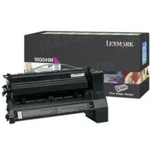 Lexmark OEM Magenta Return Program Laser Toner Cartridge, 15G041M (6K Page Yield)
