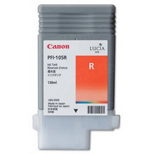 Canon PFI-105R Red OEM Ink Cartridge, 3006B001AA
