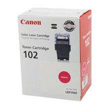 Canon CRG-102 (6,000 Pages) High Yield Magenta Laser Toner Cartridge - OEM 9643A006AA