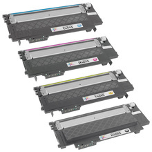 Samsung CLT-404S Series Compatible Set of 4: Black, Cyan, Magenta, & Yellow Toners