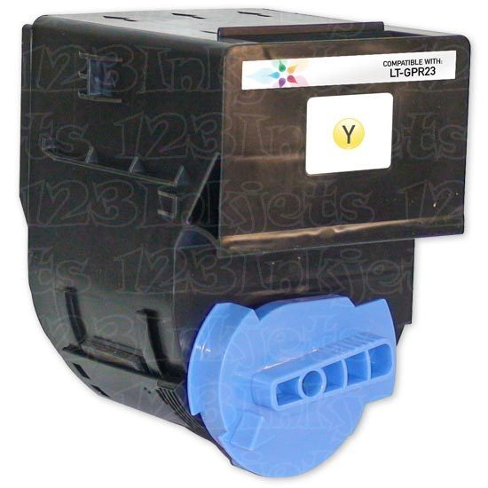 Compatible GPR23 Yellow Toner for Canon