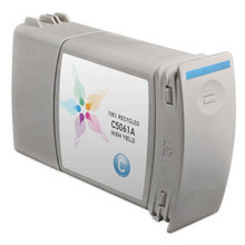 Remanufactured Replacement Ink Cartridge for Hewlett Packard C5061A (HP 90) High-Yield Cyan