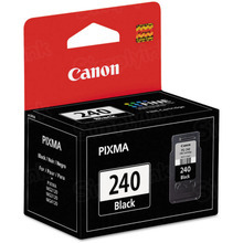 Canon PG-240 Black OEM Ink Cartridge, 5207B001