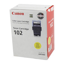 Canon CRG-102 (6,000 Pages) High Yield Yellow Laser Toner Cartridge - OEM 9642A006AA