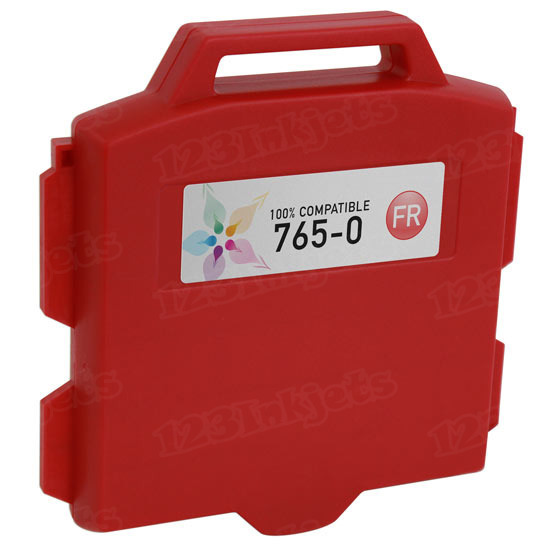 Compatible Replacement for Pitney Bowes 765-0 Fluorescent Red Ink