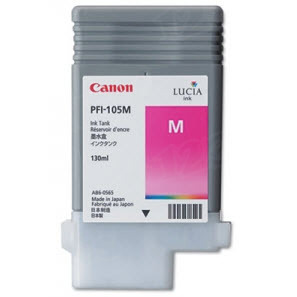 Canon PFI-105M Magenta OEM Ink Cartridge