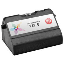 Compatible Pitney Bowes 769-0 Fluorescent Red Ink Cartridges for the Personal Post Meters E700, E707