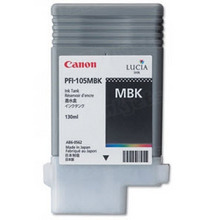 Canon PFI-105MBK Matte Black OEM Ink Cartridge, 2999B001AA