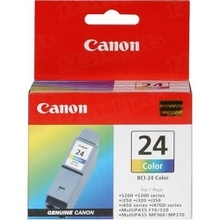 Canon BCI-24C Color OEM Ink Cartridge, 6882A003
