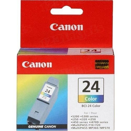 Canon BCI-24C Color OEM Ink Cartridge