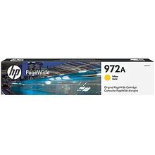 Original HP 972A Yellow PageWide Cartridge in Retail Packaging (L0R92AN)