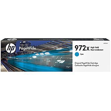 HP 972X High Yield Cyan Original Cartridge L0R98AN