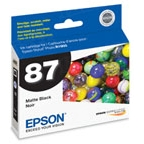 Original Epson 87 Matte Black Inkjet Cartridge (T087820)