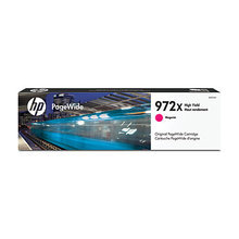 Original HP 972X High Yield Magenta PageWide Cartridge in Retail Packaging (L0S01AN)