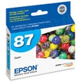 Epson 87 Cyan OEM Ink Cartridge (T087220)